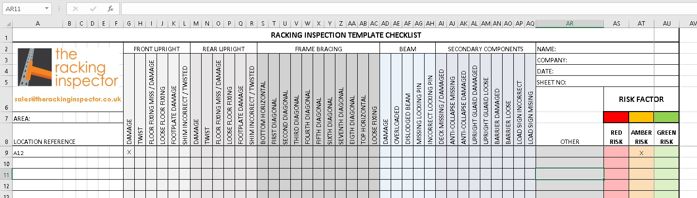 Free Rack Inspection Checklist Download   SEMA Approved